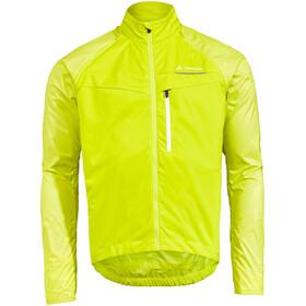 VAUDE Windoo Pro Zip-Off Jacket Men bright green